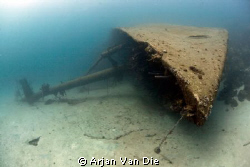 The Hilma Hooker wreck by Arjan Van Die 